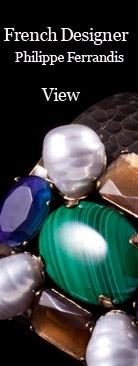 Designer French Jewelry | Designer Jewellery | Philippe Ferrandis