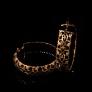 Byzantine Style Designer Enamel Jewel Silver Earrings