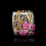 Designer Silver Jewellery, Exclusive Mosaic Design Brooch-Pendant