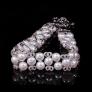 Riviera Luxury Whitepearl Collar Necklace