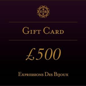 ExpressionsDesBijoux, £500 Online Jewellery Gift Card