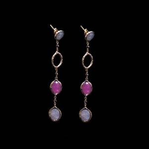 Luxury Limited Edition Gemstone Earrings