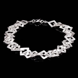 Byzantine Designer Jewellery, Exclusive Silver Necklace