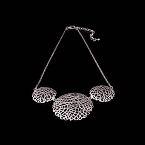 Designer Silver Jewellery, Exclusive Silver Filigree Necklace