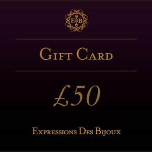 ExpressionsDesBijoux, £50 Online Jewellery Gift Card