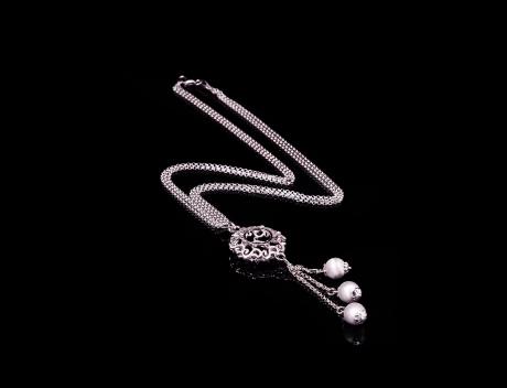 Exclusive Designer Jewellery Necklace In Sunsilver Design