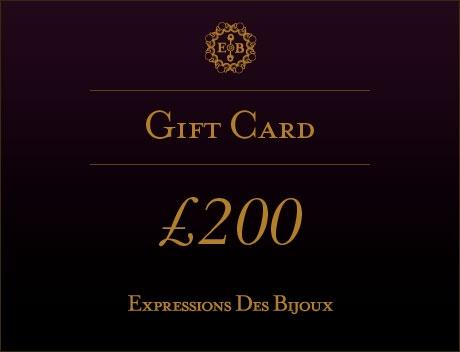 ExpressionsDesBijoux, £200 Online Jewellery Gift Card