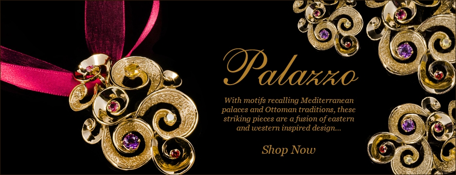 Italian Designer Gold Jewellery- Luxury jewellery in gold and precious stone