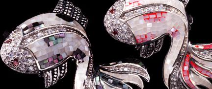 Exclusive Designer Jewellery Brooches