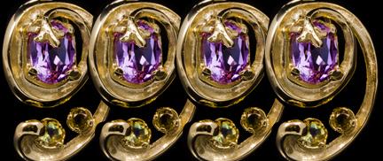 Exclusive designer jewellery earrings